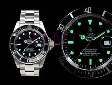 fashion Watch Men Automatic Mechanical Stainless Steel Marine watch