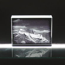 grand 3d crystal The Potala Palace building model