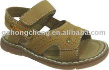 Leder sandale, schuhe, beliebt sandalen