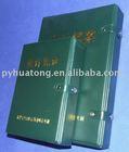 A4 pu leather folder case