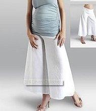 3/4 Linen Culottes Maternity Wear
