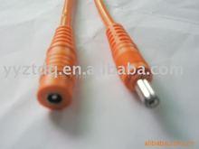 Orange female DC plug