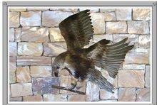 Metal Eagle (Eagle on Rock-Wall)