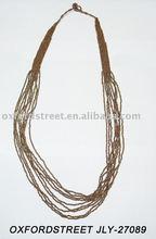 novelty beaded necklace fashion jewelry