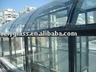 3mm-25mm decorative tempered glass table with ISO&3C manufacturer in shenzhen China
