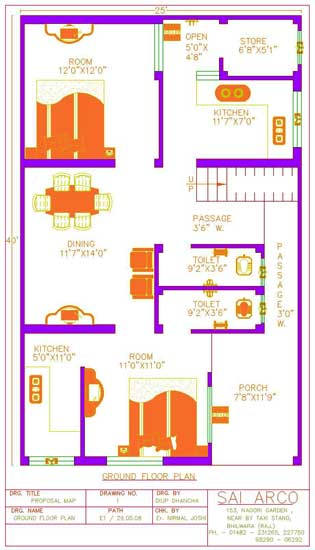 House Map Design Service