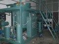 Épurateur d'huile de moteur/filtration/réutilisation/installations de traitement/régénération/de transformation avec la pompe de vide et le système infrarouge