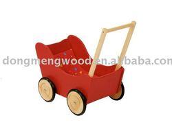 wooden doll pram