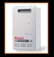 Rinnai Infinity 26 - External GAS WATER HEATERS