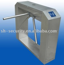 Customized Stainless steel Tripod Turnstile gate with RFID Reader