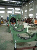 PE large diameter plastic pipe crusher