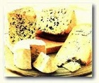 Local and imported cheeses