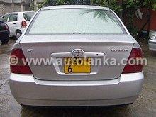 car - Toyota Corolla NZE 121 G-LTD For Sale