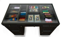 The EZ View Craft Desk : Black