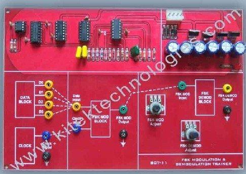 BCT-11 FSK MODULATION & DEMODULATION KIT