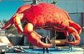 Desenhos animados infláveis& inflável caranguejo& inflável anúncio