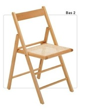 rattan cane and straw folding chair, bas 2