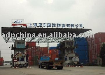 zona libre y en condiciones de servidumbre servicio de almacén en china