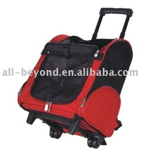 red draw-bar pet carrier (RPT-5406)