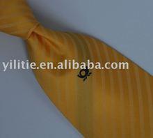 Silk Woven Logo Tie