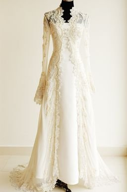 Long Sleeve Lace Dress on Wedding Dresses    Wedding Dress With Long Sleeves