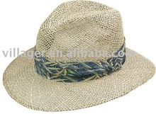 Sea grass Straw Outdoors man Hat