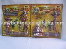 Os índios brinquedos, indian set, indian arma