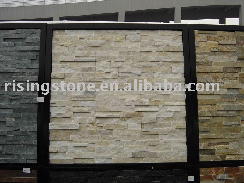 Revestimiento de la pared natural de piedra - Paneles de piedra natural ...