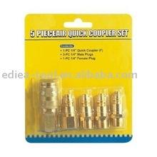 5pc quick coupler set