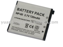 Digital Camera Battery for Casio NP-60 NP60