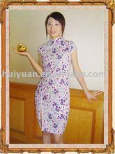qipao silk dress sleeves 2012