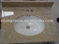Granite vanity top (stone table, bathroom furniture)