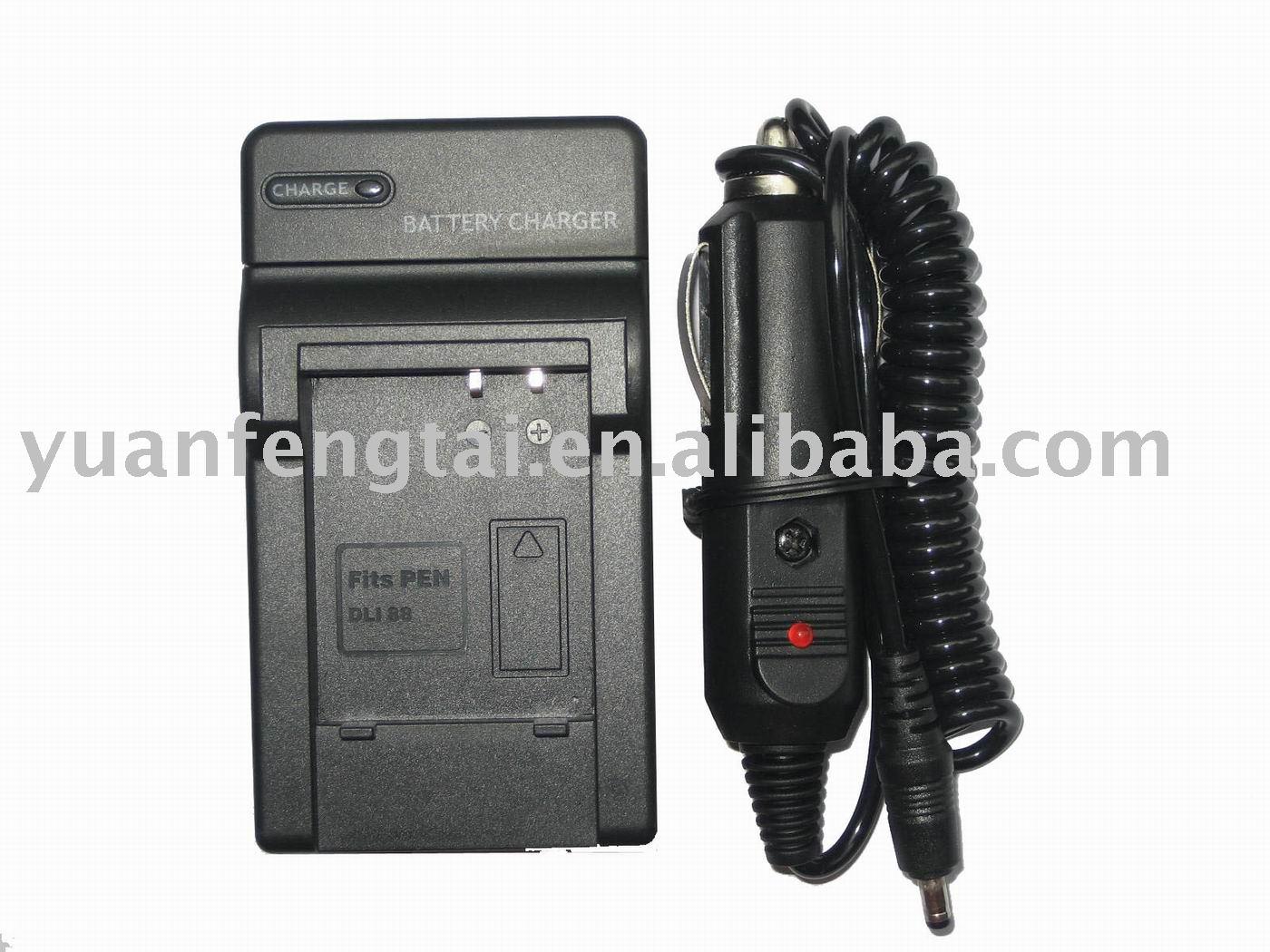D-Li88 Camera Charger Digital Camera Battery Charger for Pentax D-Li88