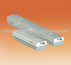 Full plastic explosion-proof fluorescent light fittings