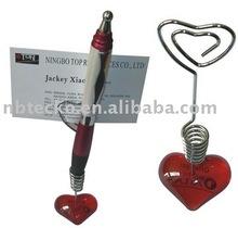 Best selling name card and ball pen holder/memo holder/paper clip