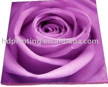 giclee purple rose canvas art