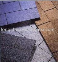 coloured asphalt roofing shingles