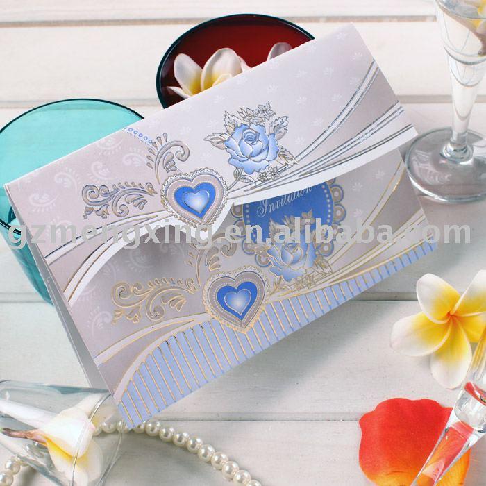 See larger image HW044 hindu wedding cards