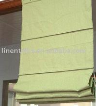 Linen and Cotton Roman Blinds