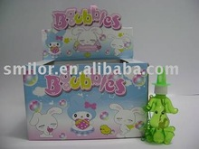 Soap Bubble Toy-- 24 Bottles of Bubble Solution Per Display Box