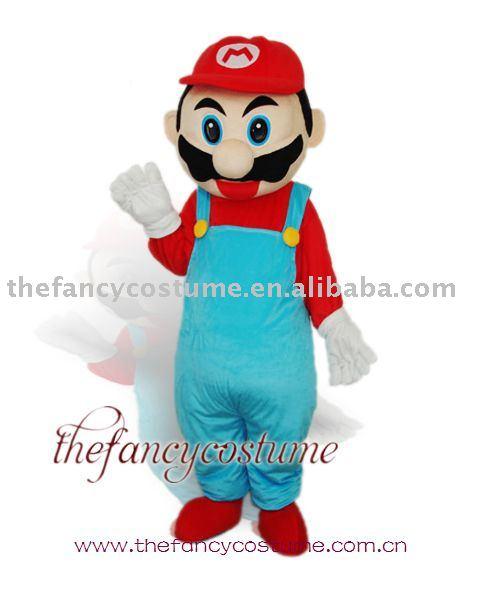 Cartoon Characters Mario. Costume Cartoon Character