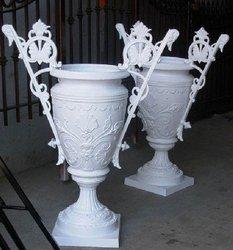 Cast Iron Victorian Urns