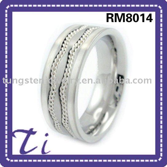 men 39s celtic heart wedding rings blue titanium ring blue titanium ring