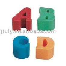 2012 special lovely Tpr letter eraser