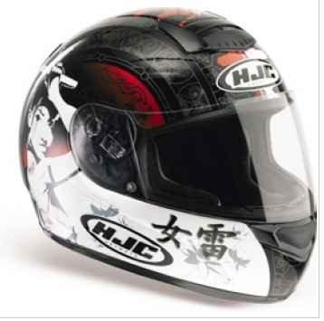 Helmet---HJC CS-R1 Samurai Special