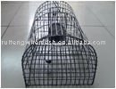 galvanized or pvc coated mouse trap cage