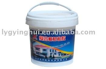 Polystyrene foam glue