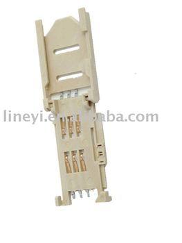 PCB sim card connector