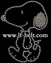 hot fix iron on rhinestone,garment motif,hot fix motif design