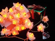 White Plum blossom Christmas home decoration lights,